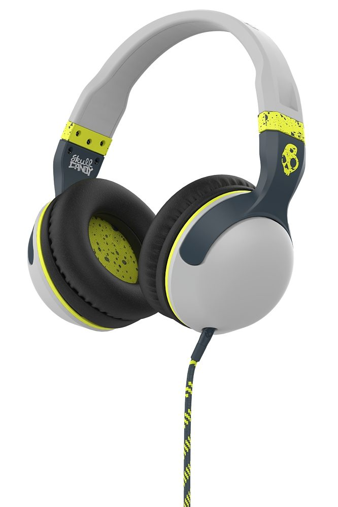 Skullcandy Headset »HESH 2 OVER-EAR W/MIC 1 LIGHT GRAY/DARK GRAY/HOT L«